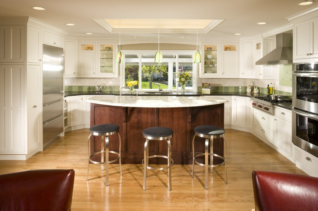 Portfolio for Open concept galley kitchen designs